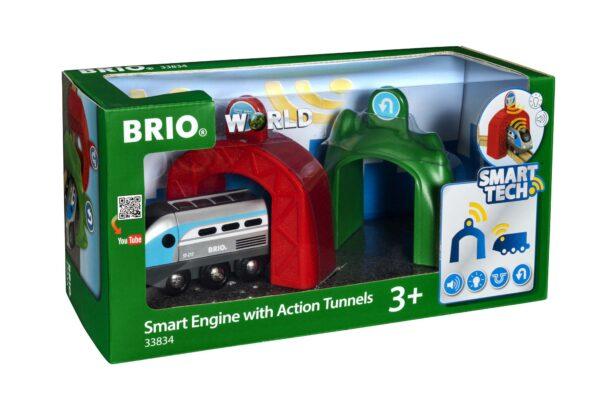BRIO Smart Tech Locomotiva intelligente con tunnel - Brio Trenini, Vagoni E Altri Veicoli - Toys Center BRIO TRENINI, VAGONI E ALTRI VEICOLI Unisex 12-36 Mesi, 3-5 Anni, 5-8 Anni, 8-12 Anni ALTRI
