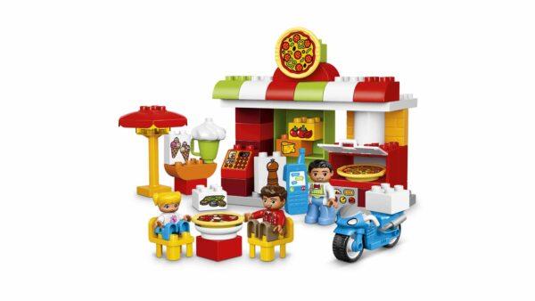 ALTRI LEGO DUPLO Unisex 3-4 Anni, 5-7 Anni 10834 - La pizzeria