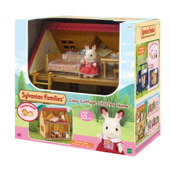 CASA Cosy Cottage Starter Set - SYLVANIAN FAMILIES - Playset e accessori per personaggi d'azione