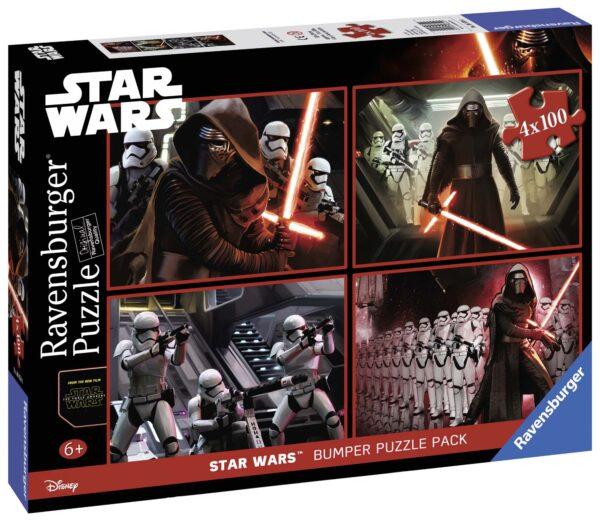 Bumper pack Star Wars 4x100 - Disney - Toys Center Star Wars Unisex 12-36 Mesi, 3-5 Anni, 5-7 Anni, 5-8 Anni, 8-12 Anni Disney