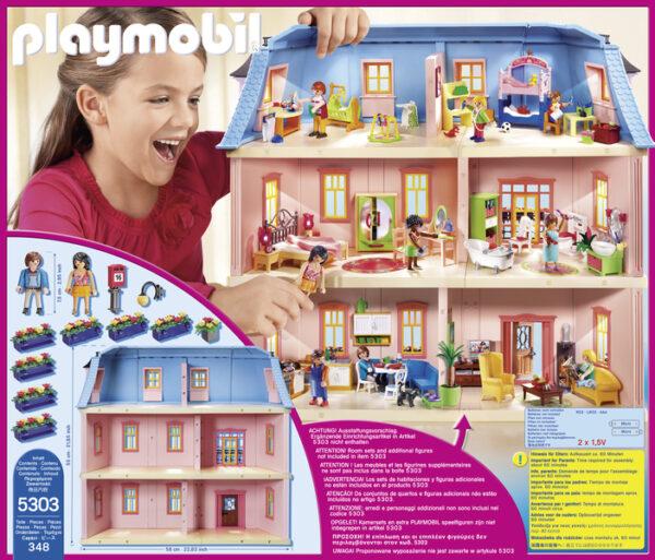 5303 -CASA ROMANTICA DELLE BAMBOLE ALTRI Femmina 3-4 Anni, 3-5 Anni, 5-7 Anni, 5-8 Anni, 8-12 Anni PLAYMOBIL - DOLL HOUSE