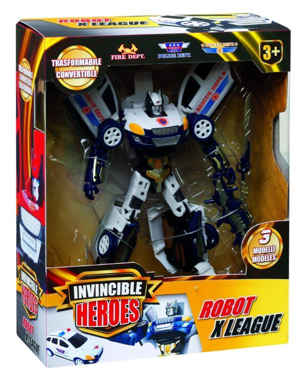 ROBOT X LEAGUE TOYS CENTER Maschio 0-12 Mesi, 12-36 Mesi, 3-5 Anni, 5-8 Anni, 8-12 Anni INVINCIBLE HEROES