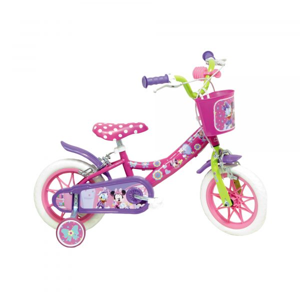 BICI MINNIE 12 - Bici, Tricicli e Giochi cavalcabili - Giochi all'aperto e sportivi - Giocattoli Disney Femmina 12-36 Mesi, 3-5 Anni, 5-8 Anni TOPOLINO&CO.