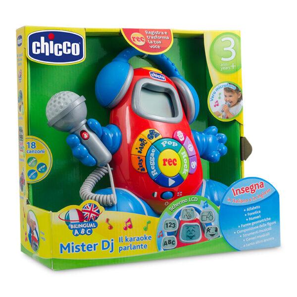 Chicco ALTRI Mister DJ KaraokeParlante Bilingue ITA/ENG Unisex 3-4 Anni, 5-7 Anni