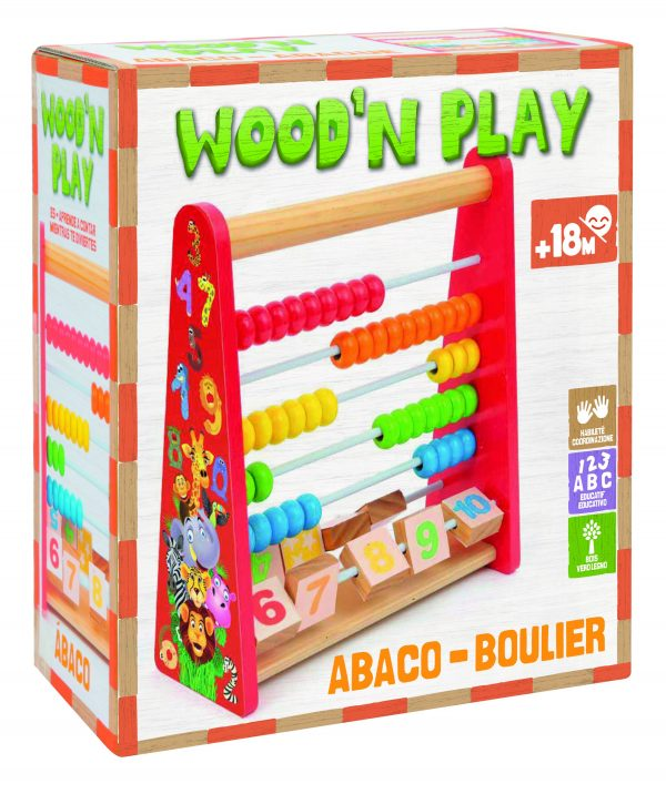 WOOD'N PLAY PALLOTTOLIERE - Wood 'n' Play - Toys Center - WOOD 'N' PLAY - Giochi elettronici e bilingue
