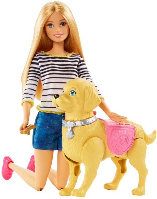 Barbie a Spasso coi Cuccioli Barbie Femmina 3-4 Anni, 5-7 Anni, 5-8 Anni, 8-12 Anni ALTRI