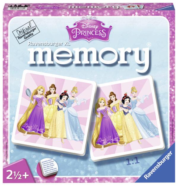 Memory XL Princess Disney Femmina 0-2 Anni, 12-36 Mesi, 3-4 Anni, 3-5 Anni, 5-8 Anni PRINCIPESSE DISNEY
