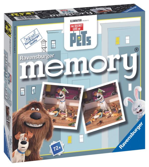 Memory Secret Life Of Pets MEMORY Unisex 3-4 Anni, 3-5 Anni, 5-7 Anni, 5-8 Anni, 8-12 Anni PETS