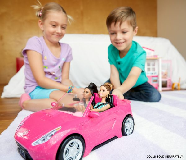 Barbie - Cabrio Glamour Femmina 12-36 Mesi, 12+ Anni, 3-5 Anni, 5-8 Anni, 8-12 Anni ALTRI Barbie