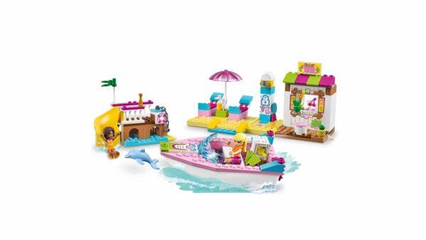 LEGO JUNIORS ALTRI 10747 - Vacanze al mare Unisex 3-4 Anni, 5-7 Anni