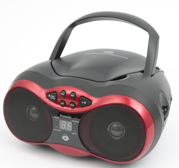 MUSIC STAR Lettore CD bluetooth TOYS CENTER Unisex 12+ Anni, 5-8 Anni, 8-12 Anni MUSIC STAR
