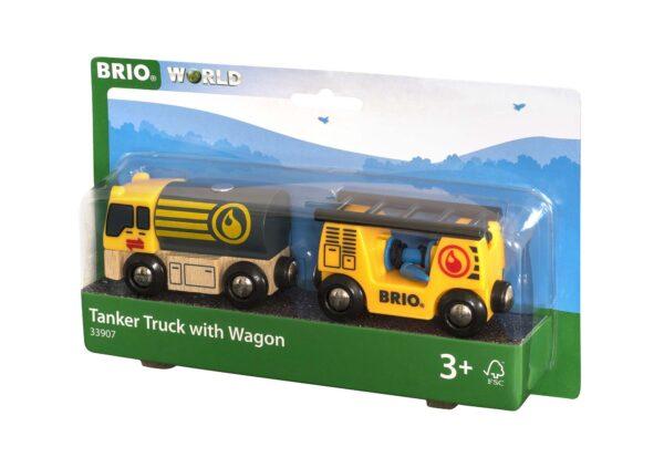 BRIO Camion cisterna - Brio Trenini, Vagoni E Altri Veicoli - Toys Center ALTRI Unisex 12-36 Mesi, 3-5 Anni, 5-8 Anni, 8-12 Anni BRIO TRENINI, VAGONI E ALTRI VEICOLI