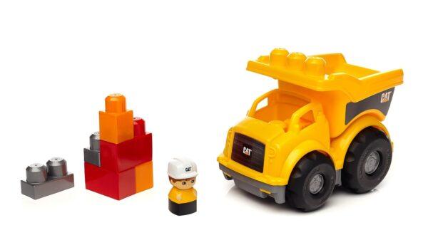 Cat Camion Dumper Lil - Mega Bloks - Toys Center - MEGA BLOKS - Veicoli giocattolo infanzia e prescolare