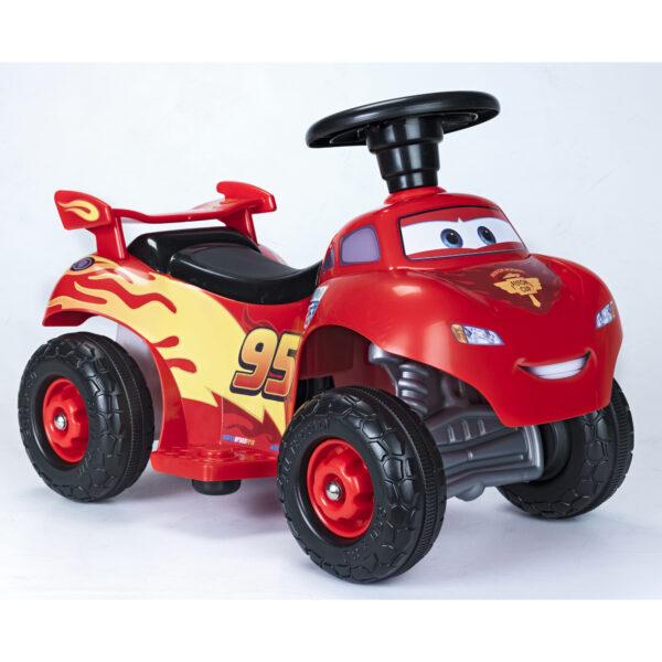 Quad Cars Lightning McQueen 6v - DISNEY - PIXAR - Giochi cavalcabili a batteria