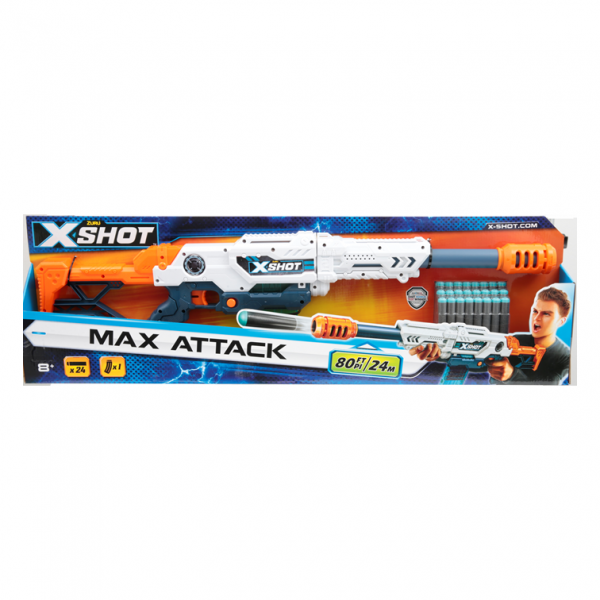 X SHOT MAX ATTACK SUN&SPORT Maschio 12+ Anni, 5-8 Anni, 8-12 Anni ALTRI