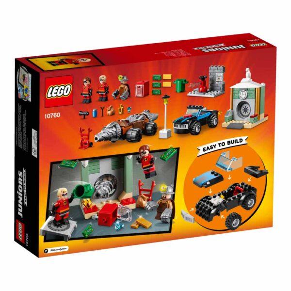 10760 - Rapina in banca del minatore - Lego Juniors - Toys Center Gli Incredibili 2 Unisex 3-5 Anni, 5-8 Anni LEGO JUNIORS