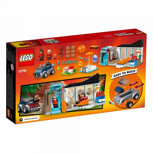 10761 - La grande fuga dalla casa - Lego Juniors - Toys Center Gli Incredibili 2 Unisex 3-5 Anni, 5-8 Anni LEGO JUNIORS