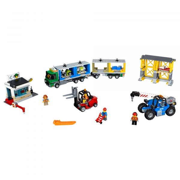 LEGO CITY ALTRI 60169 - Terminal merci - Lego City - Toys Center Maschio 12+ Anni, 5-8 Anni, 8-12 Anni