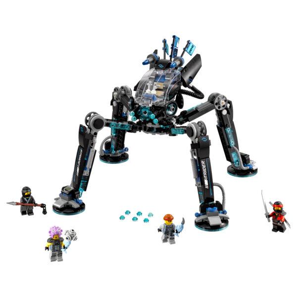 LEGO NINJAGO ALTRI 70611 - Idropattinatore - Lego Ninjago - Toys Center Maschio 12+ Anni, 5-8 Anni, 8-12 Anni