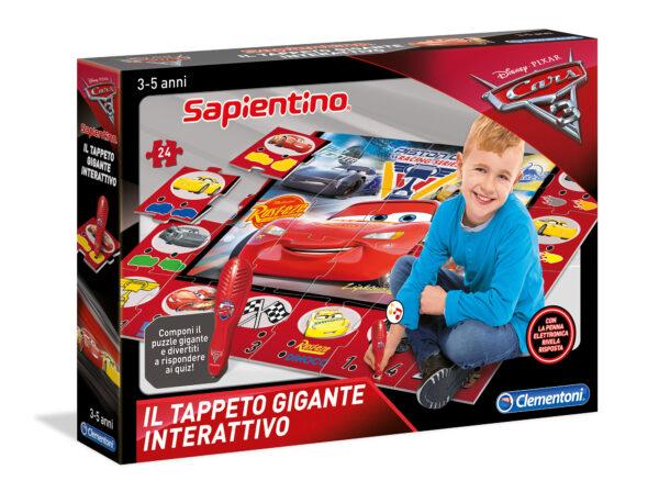 TAPPETO GIGANTE INTERATTIVO CARS 3 ALTRO Unisex 12-36 Mesi, 3-5 Anni, 5-8 Anni ALTRI