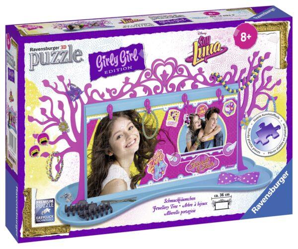 Girly girl 3D Porta gioielli Soy Luna - Disney - Toys Center Soy Luna Femmina 12+ Anni, 5-8 Anni, 8-12 Anni Disney