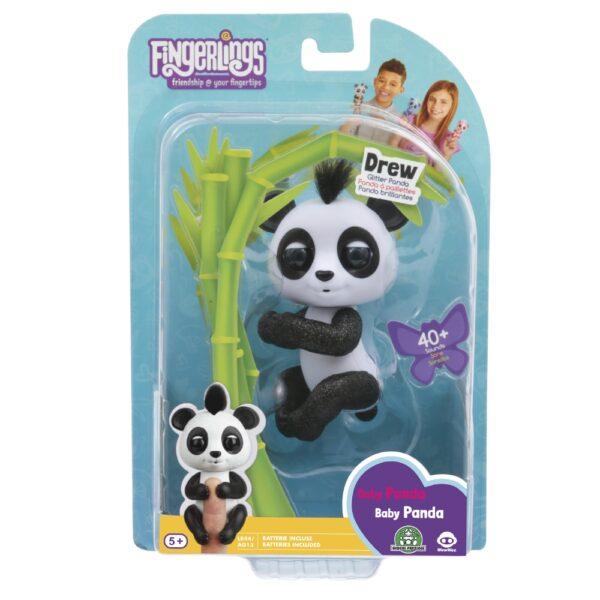 Giochi Preziosi - Fingerlins Panda Bebè Drew - Altro - Toys Center - ALTRO - Personaggi collezionabili
