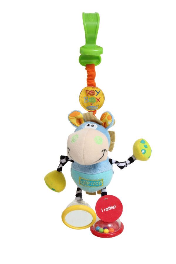 Toy Box Dingly Dangly Clip Clop - Altro - Toys Center ALTRO Unisex 0-12 Mesi, 12-36 Mesi ALTRI