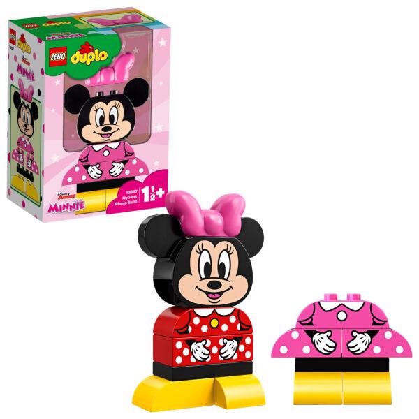 10897 - La mia prima Minnie - Lego Duplo - Toys Center LEGO DUPLO Unisex 0-12 Mesi, 12-36 Mesi, 12+ Anni, 3-5 Anni, 5-8 Anni, 8-12 Anni TOPOLINO&CO.