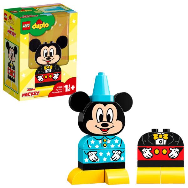 10898 - Il mio primo Topolino - Lego Duplo - Toys Center LEGO DUPLO Unisex 0-12 Mesi, 12-36 Mesi, 12+ Anni, 3-5 Anni, 5-8 Anni, 8-12 Anni TOPOLINO&CO.