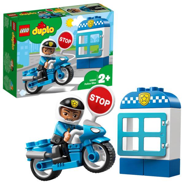 10900 - Moto della Polizia - Lego Duplo - Toys Center LEGO DUPLO Unisex 12-36 Mesi, 12+ Anni, 3-5 Anni, 5-8 Anni, 8-12 Anni ALTRI