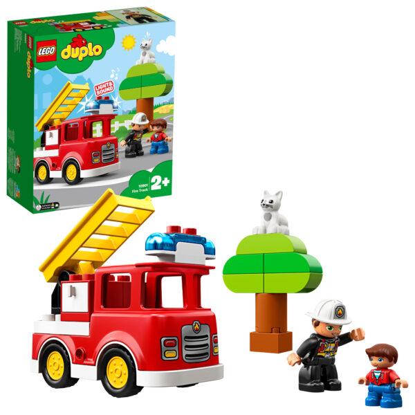 10901 - Autopompa - Lego Duplo - Toys Center LEGO DUPLO Unisex 12-36 Mesi, 12+ Anni, 3-5 Anni, 5-8 Anni, 8-12 Anni ALTRI