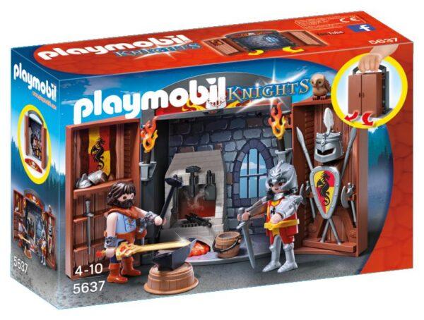 PLAY BOX BOTTEGA DELLE SPADE Playmobil Knights Maschio 3-4 Anni, 5-7 Anni, 8-12 Anni ALTRI
