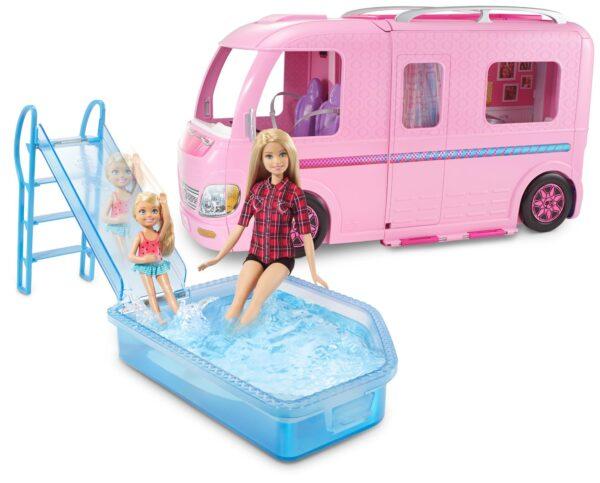 ALTRI Barbie Femmina 12-36 Mesi, 12+ Anni, 3-5 Anni, 5-8 Anni, 8-12 Anni Camper dei sogni