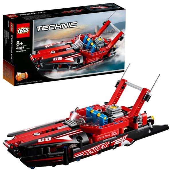 42089 - Motoscafo da corsa - Lego Technic - Toys Center - LEGO TECHNIC - Costruzioni