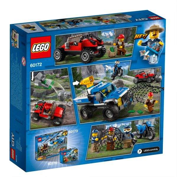 LEGO City  - Duello fuori strada -60172 ALTRI Maschio 12+ Anni, 3-5 Anni, 5-8 Anni, 8-12 Anni LEGO CITY