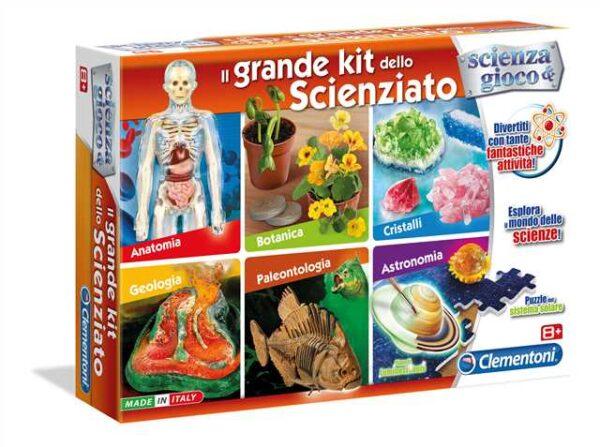 Il Grande Kit dello Scienziato - Focus / Scienza&gioco - Toys Center - FOCUS / SCIENZA&GIOCO - Giochi educativi, musicali e scientifici