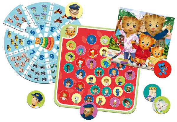 Daniel tiger educational multigames DANIEL TIGER Unisex 12-36 Mesi, 3-4 Anni, 3-5 Anni, 5-7 Anni, 5-8 Anni ALTRO