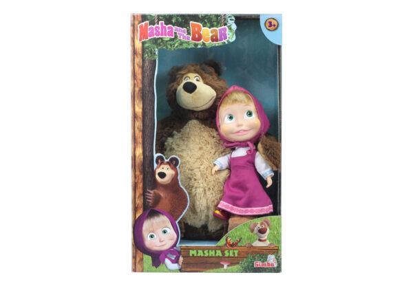 Misha 43cm + Masha cm23 - Altro - Toys Center ALTRO Femmina 12-36 Mesi, 12+ Anni, 8-12 Anni Masha e Orso