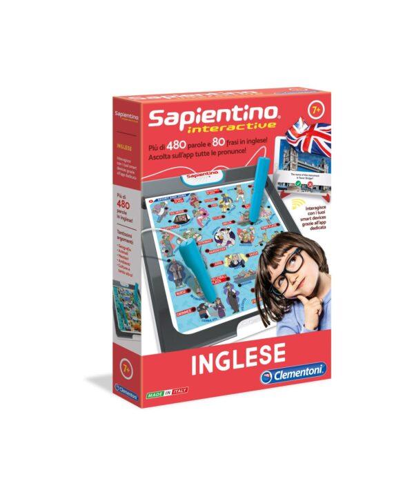 SAPIENTINO INTERACTIVE - INGLESE - Sapientino - Toys Center SAPIENTINO Unisex 12+ Anni, 5-8 Anni, 8-12 Anni ALTRI