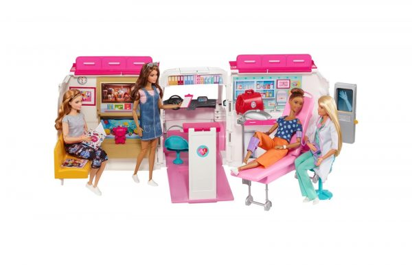 Barbie - Ambulanza Barbie Femmina 12-36 Mesi, 12+ Anni, 8-12 Anni ALTRI