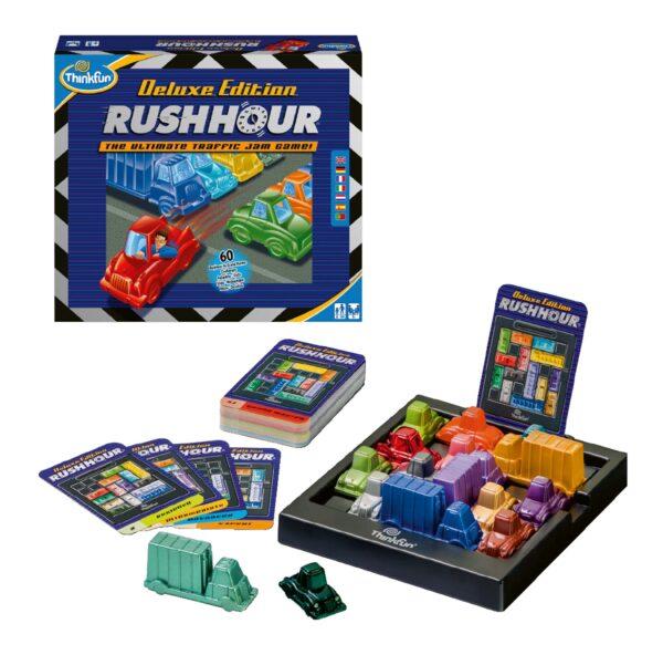 Rush Hour Deluxe - ThinkFun - Thinkfun - Toys Center ALTRI Unisex 12+ Anni, 8-12 Anni THINKFUN