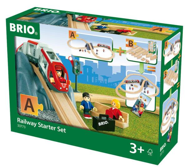 BRIO starter set ferrovia BRIO Unisex 12-36 Mesi, 3-5 Anni, 5-8 Anni ALTRI