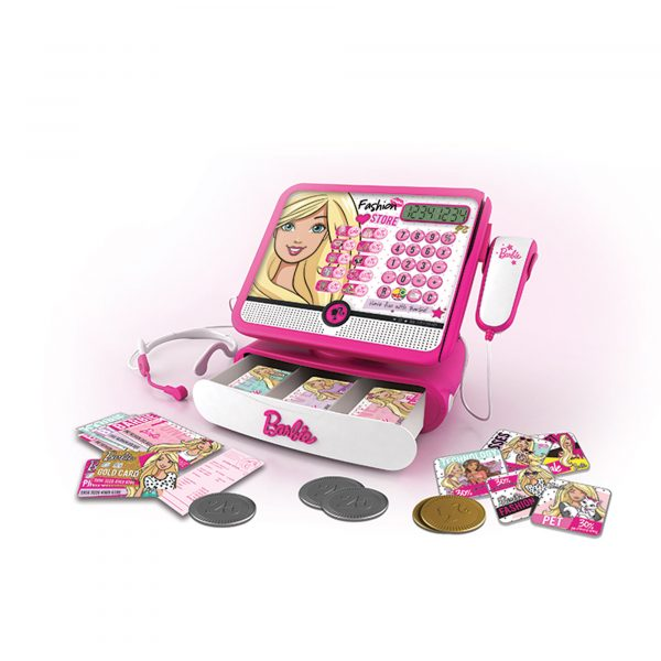 Registratore di cassa di Barbie ALTRI Femmina 12-36 Mesi, 3-5 Anni, 5-8 Anni Barbie