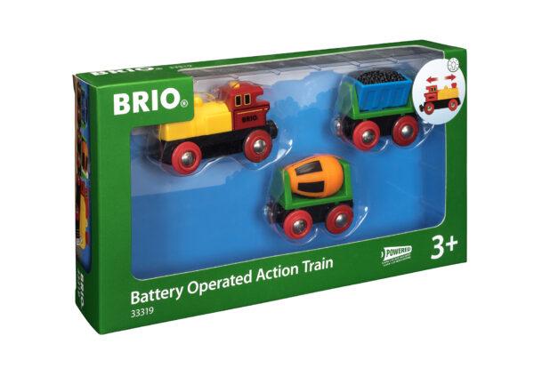 BRIO treno con locomotiva a batterie BRIO Unisex 12-36 Mesi, 3-4 Anni, 3-5 Anni, 5-7 Anni, 5-8 Anni ALTRI