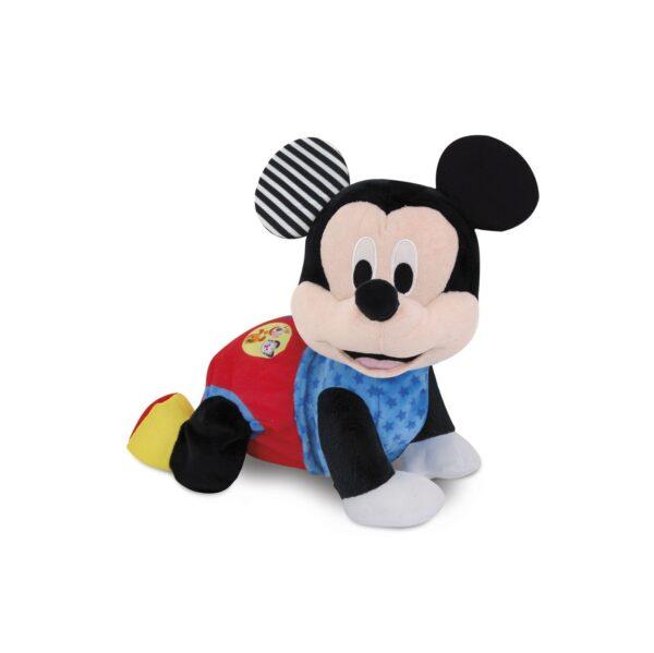 Disney TOPOLINO&CO. Clementoni - 17237 - BABY MICKEY GATTONA CON ME Unisex 0-12 Mesi, 12-36 Mesi, 3-5 Anni