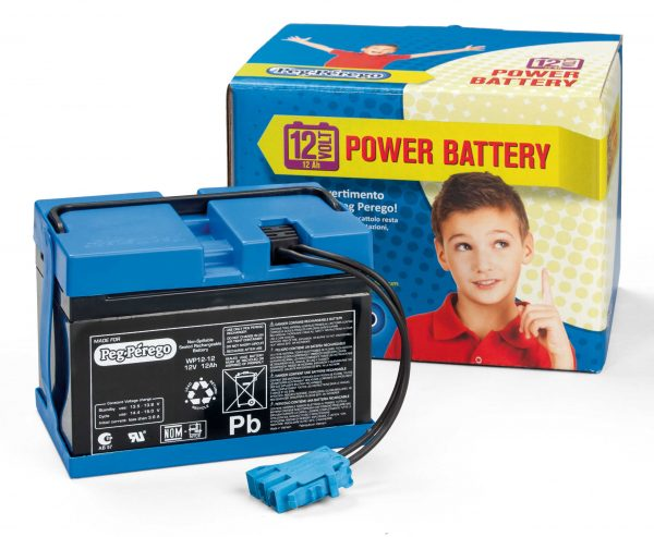 Batteria 12V/12AH  Peg Perego ALTRI Unisex 0-12 Mesi, 12-36 Mesi, 3-5 Anni, 5-8 Anni ALTRO, Peg Perego