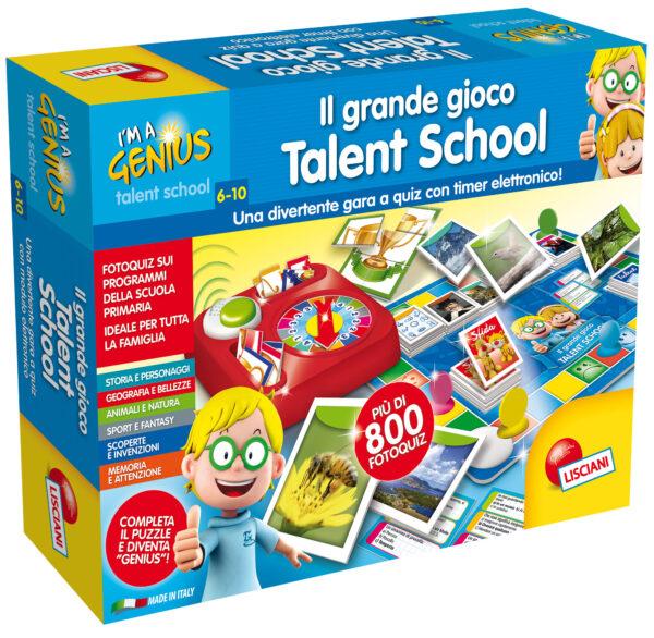I'm a genius il grande gioco talent school I'M A GENIUS Unisex 3-5 Anni, 5-7 Anni, 5-8 Anni, 8-12 Anni ALTRI