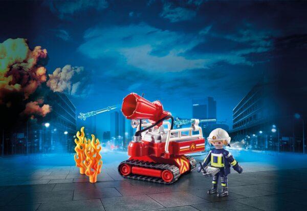 ROBOT DEI VIGILI DEL FUOCO - Playmobil - City Action - Toys Center ALTRI Unisex 12+ Anni, 8-12 Anni PLAYMOBIL - CITY ACTION