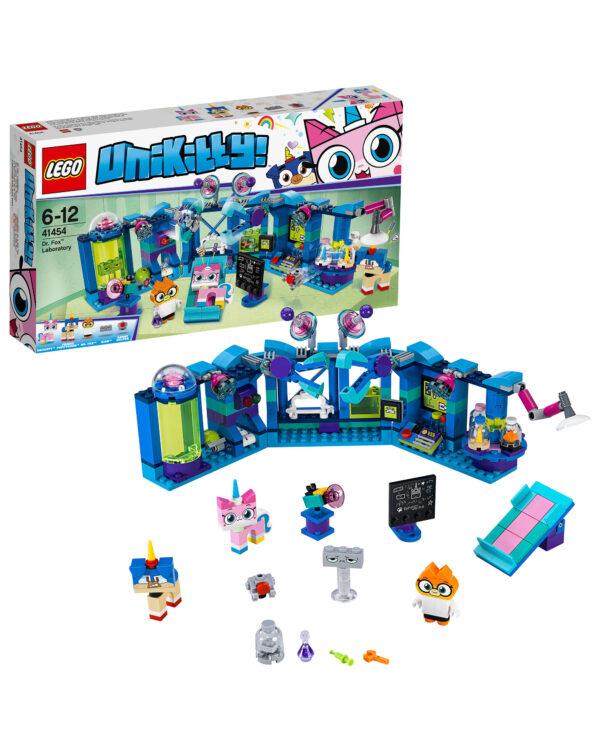 LEGO UNIKITTY ALTRI 41454 - Il laboratorio della D.ssa Volpe Unisex 12+ Anni, 5-8 Anni, 8-12 Anni