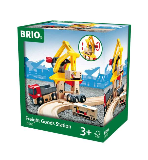 BRIO stazione movimentazione merci - BRIO